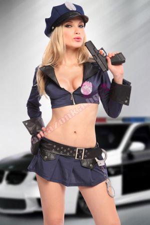 Полицайка с пола