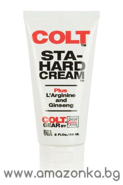COLT Sta-Hard Cream Bottle