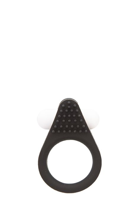 Вибриращ пръстен ''Lit-up silicone stimu-ring - 1 BLACK