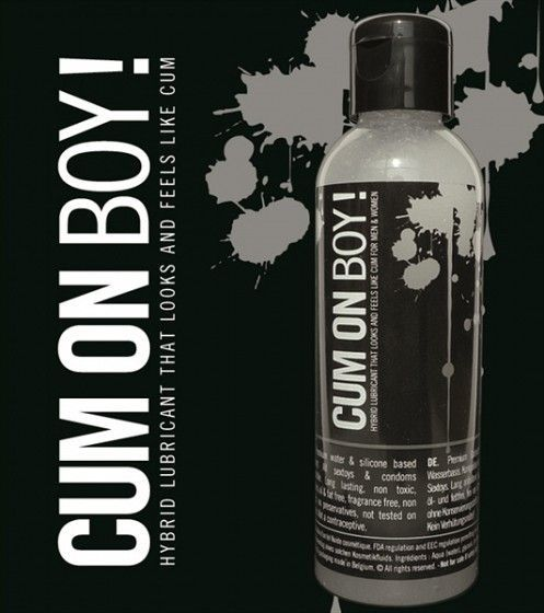 Лубрикант на силиконова основа  - ,,Cum 4 Boy!'' 100mL