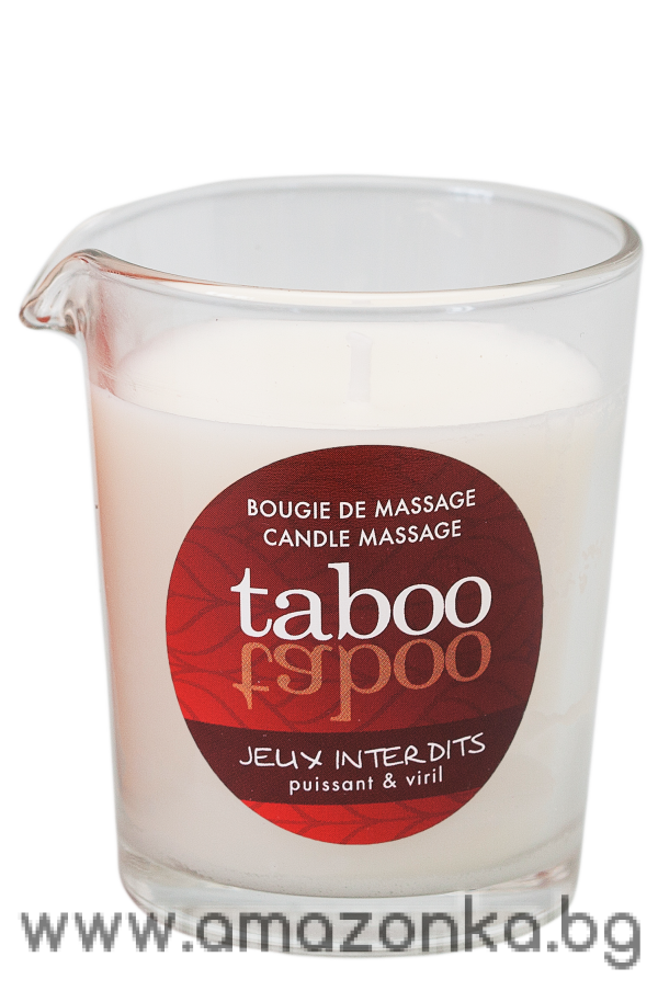 TABOO JEUX INTERDITS CANDLE FOR MEN 60g.