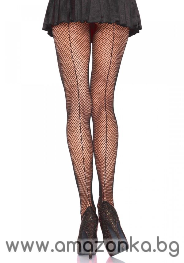 Leg Avenue, Fishnet pantyhose backseam, Leg Avenue, thigh high