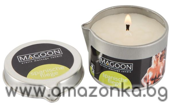 Massage Candle with Scent-Spanische Fliege