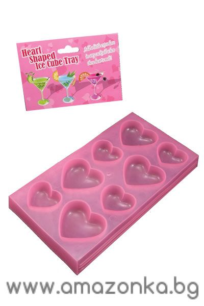 Heart Shaped Ice Cube Tray
