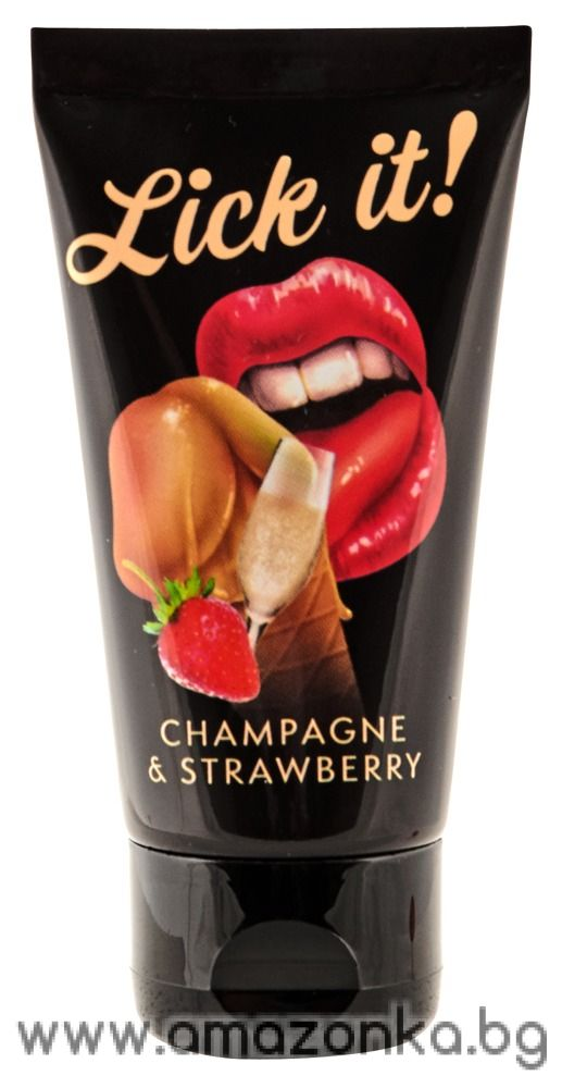 Lick-it Champagne & Strawberry50ml
