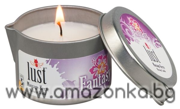 Body warming massage lotion. Coconut oil-based.Massage Candle