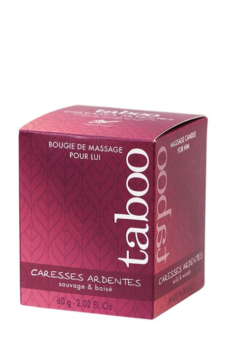 TABOO CARESSES ARDENTES FOR MEN 60g.
