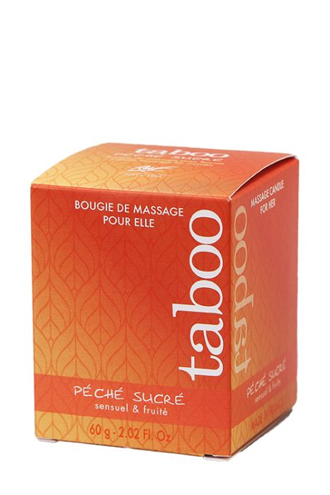 TABOO PECHE SUCRE CANDLE FOR HER 60g