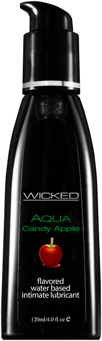 WICKED AQUA CANDY APPLE FLAVORED 120ML