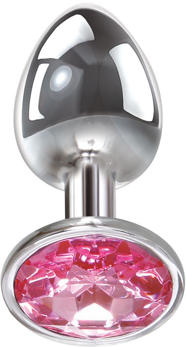 A&E PINK GEM ANAL PLUG MEDIUM
