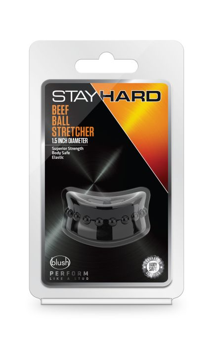 STAY HARD BEEF BALL STRETCHER BLACK