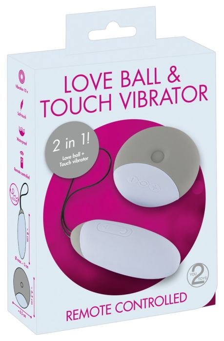 Love Ball & Touch Vibrator