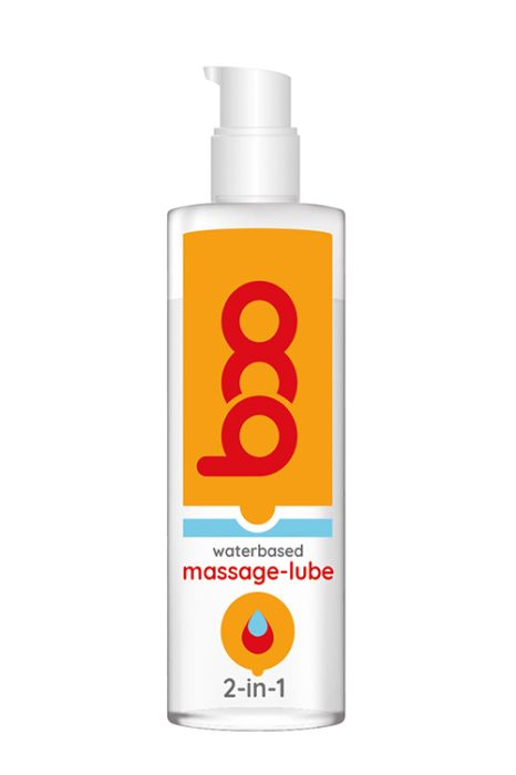BOO 2-IN-1 MASSAGE-LUBE 150ML