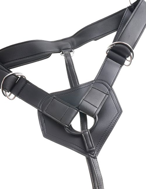 KING COCK STRAP-ON HARNESS W/7 FLESH