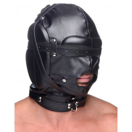 Маска шлем Bondage Hood with Breathable Ball Gag